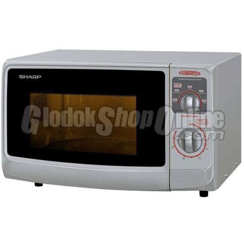 Microwave Sharp R 222 Y White